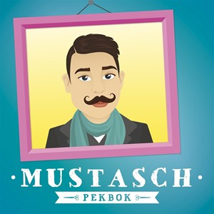Bild på Mustasch Pekbok