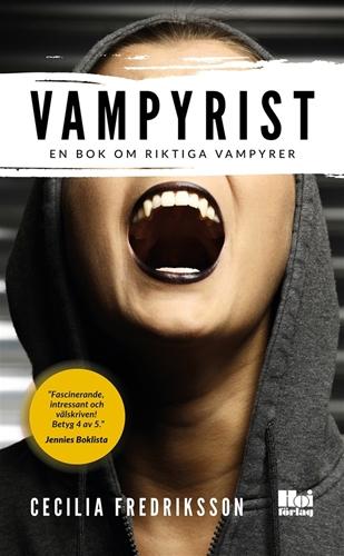 Bild på Vampyrist : en bok om riktiga vampyrer