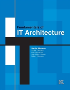 Bild på Fundamentals of IT architecture